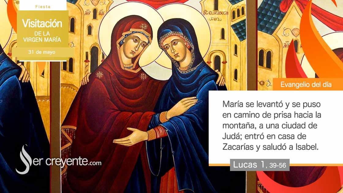 31 mayo visitacion de la virgen maria