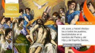 Photo of Evangelio del día 30 mayo 2021 (Santísima Trinidad)