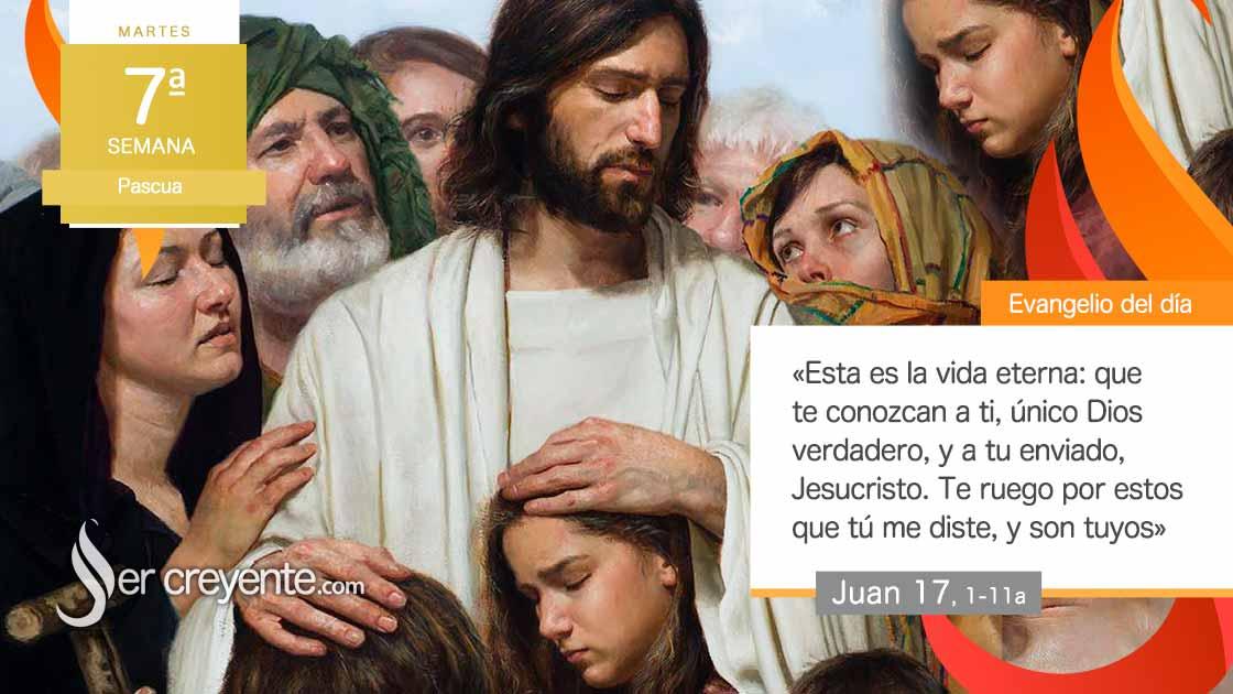 """Photo of Evangelio del día 18 mayo 2021 (""""Padre, te ruego por ellos"""")"""