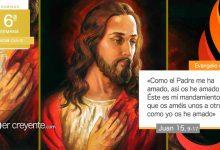 """Photo of Evangelio del día 9 mayo 2021 (""""Amaos unos a otros como yo os he amado"""")"""