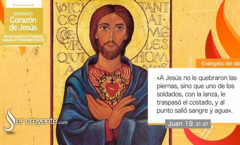 Photo of Evangelio del día 11 junio 2021 (Sagrado Corazón de Jesús)