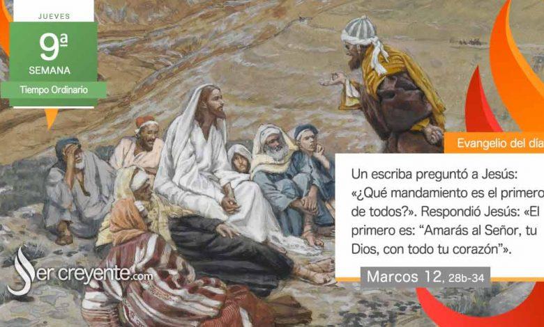 """Photo of Evangelio del día 3 junio 2021 (""""¿Qué mandamiento es el primero de todos?"""")"""