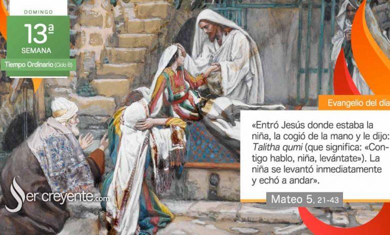 """Photo of Evangelio del día 27 junio 2021 (""""Contigo hablo, levántate"""")"""