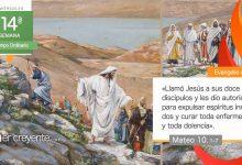"""Photo of Evangelio del día 7 julio 2021 (""""Id y proclamad que ha llegado el reino"""")"""