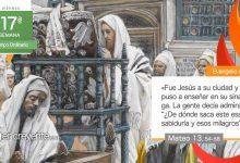 """Photo of Evangelio del día 30 julio 2021 (""""Solo en su tierra desprecian a un profeta"""")"""