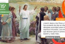 """Photo of Evangelio del día 11 julio 2021 (""""Jesús los llamó y los envió"""")"""