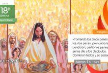"""Photo of Evangelio del día 2 agosto 2021 (""""Partió los panes y se los dio"""")"""