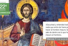 """Photo of Evangelio del día 29 agosto 2021 (""""Lo de dentro es lo que hace impuro al hombre"""")"""