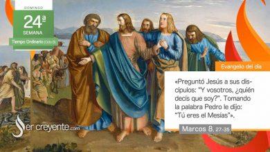 """Photo of Evangelio del día 12 septiembre 2021 (""""Y vosotros, ¿quién decís que soy yo?"""")"""