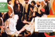 """Photo of Evangelio del día 17 octubre 2021 (""""No he venido a ser servido, sino a servir"""")"""