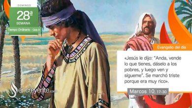 """Photo of Evangelio del día 10 octubre 2021 (""""Vende lo que tienes, ven y sígueme"""")"""