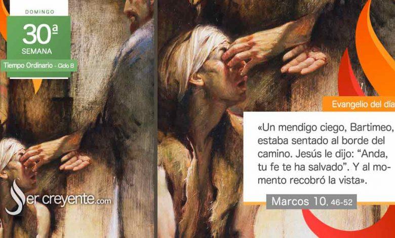 """Photo of Evangelio del día 24 octubre 2021 (""""Maestro, que recobre la vista"""")"""